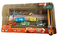 Disney Pixar Cars 2 SPEEDWAY 9-Pack 4 Exclusive Vehicle 2010Target Exclusive NIB