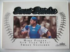 2003 FLEER SWEET STICHES, MIKE PIAZZA, METS !! BOX 13