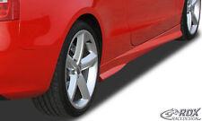 "RDX minigonne AUDI a5 b8 8t3 COUPE 8f7 Cabrio ""Turbo"" Gonne Set ABS"