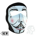 Vendetta V Anarchy full neoprene face mask Zan Headgear WNFM077 Biker Costume