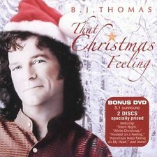 B.J. Thomas CD / DVD That Christmas Feeling rare