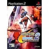 Capcom Vs SNK 2 Mark Of The Millennium PS2 PlayStation 2 Video Game UK Release