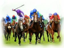 STUNNING HORSE RACING PRINT / PICTURE