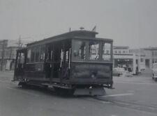 USA057 - MARKET STREET RAILWAY Co 1950s TROLLEY No3 PHOTO San Francisco USA