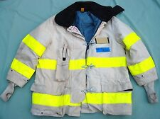 CAIRNS Firefighter Turnout CHIEF JACKET Size 48x35 white  #93 A
