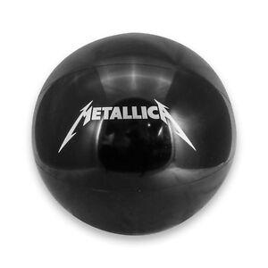 "Metallica 36"" Black Beach Ball - 2008 - 2010 World Magnetic Tour"