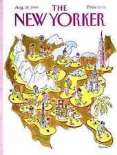 New Yorker COVER 08/28/1989  Mini Golf STEVENSON