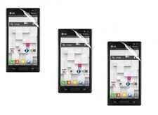 3 Premium Clear Pre Cut Custom Screen Protector for LG Optimus L9 P769 MS769