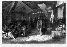 WHITE SLAVERY IN THE EAST, SLAVE WOMEN EXPOSED FOR SALE