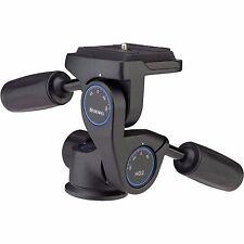 Benro HD2 3-Way Head - Testa Fotografica a Tre Movimenti con Innesto Rapido