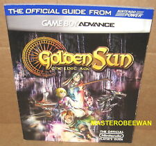 Golden Sun The Lost Age Official Guide Book Game Boy Advance GBA New
