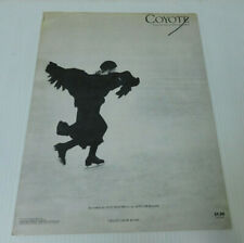 Coyote by Joni Mitchell - Sheet Music - 7 Pages - 1977