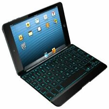 ZAGG Cover with Backlit Bluetooth Keyboard for Apple iPad mini 1 & mini 2