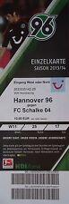TICKET 2013/14 Hannover 96 - FC Schalke