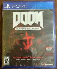 DOOM Slayers Collection PS4 (PlayStation 4, Bethesda, 2019) - New & Sealed