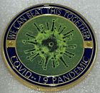 * 2020 Pandemic Challenge Coin 19COVID Corona-19 Gold Trim Health Care Worker