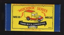 MATCHBOX TOY LIMITED EDITION No. 1743 of 5000 FORD MODEL A VAN