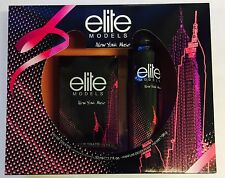 ELITE MODELS GIFT SET EDT SPRAY 50ML AND PARFUM DEODORANT 150ML(PINK AND BLACK)