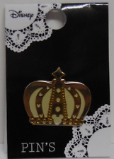 Disney Pin Japan Tdl Heart Art Collection Crown New