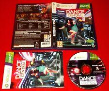 DANCE CENTRAL 1 XBOX 360 Per Kinect Versione Italiana 1ª Ediz ○ COMPLETO - FG