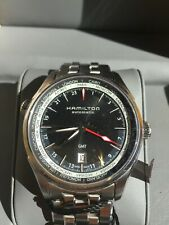 HAMILTON Jazzmaster GMT Black Dial Men's Automatic SWISS MADE Watch H32695131