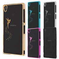 Sony Xperia Z3 Z3 Compact M4 Aqua Coque de protection housse case cover fée