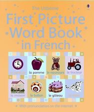 First Picture Word Book in French (First Picture Language Books) (French Edition