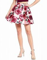 B. Darlin Skirts Pink Size 5 Junior A-Line Floral Printed Pleated $49- 589