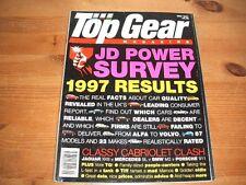 TOP GEAR MAGAZINE MAY-1997 - Fiat Bravo HGT, Mercedes SL 320 R129, Jaguar XK8
