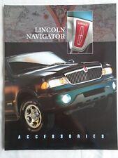 Lincoln Navigator Accessories brochure undated USA market