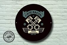 Cafe Racer Metal Sign, Biker, Vintage, Motorbike, Motorcycle, Advertising, 976