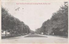"*Indiana Postcard-""East Avenue Boulevard"" (South) -Butler- /PM 1918/ (U1-968)"