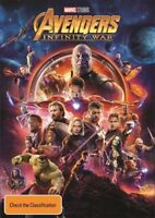 Avengers Infinity War DVD NEW Region 4 Chris Hemsworth
