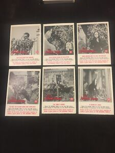 "Trading Card The Addams Family 1964 #34,55,61,62,63,65 ""Gotta Be Sharp"" Gomez"