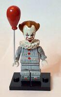 IT Pennywise the Clown 2019 Custom Lego Minifigure Mini Fig