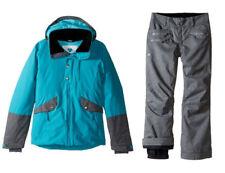 Obermeyer Ski Snowboard Suit Set Kenzie Jacket & Jessi Pants,Size XS (6/7 Girls)