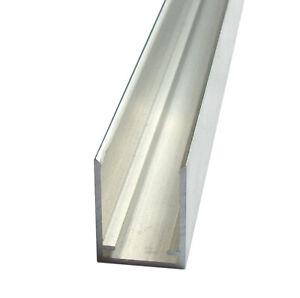 Alu U-Profil Spezial 16mm, Länge bis 1,5m