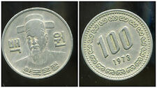 COREE DU SUD  100 won 1973