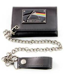 Pink Floyd Dark Side of the Moon Psychedelic Rock Band Chain Wallet MW02447PFDU