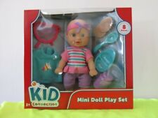 Kid Connection - Mini Doll Play Set - Happy, Fun, Learning