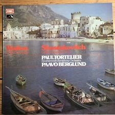 ASD 2924 Walton / Shostakovich Cello Concertos / Paul Tortelier / Berglund HP...