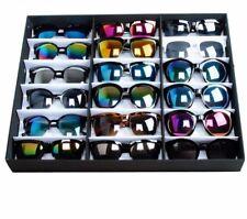 Sunglasses Display Stand Storage Eye Wear Accessory Essential Safe Box Case Tray