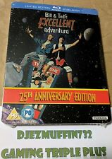 BILL & TED'S EXCELLENT ADVENTURE BLU-RAY LIMITED EDITION STEELBOOK (REGION B)