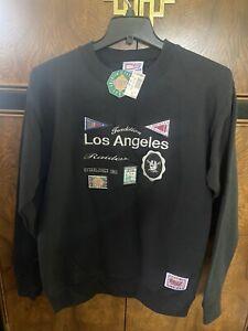 Rare NOS Vtg 80s 90s Los Angeles Raiders NFL Crewneck Sweatshirt Large Football