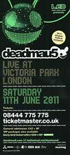 DEADMAU5 11/6/11 Classic Rave Flyer