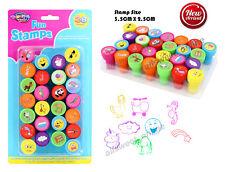 26PC Mega Value Kids Fun Stamps RAINBOW UNICORN ANIMALS Assorted Series
