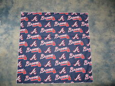 MLB ATLANTA BRAVES BASEBALL HEAD BANDANA / CHEERING CLOTH  22 1/2""