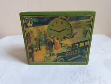 """Handgefertigt Taschenuhr Box """"ROLEX"""" Karton Uhrenboxen Uhren Schatulle Kasten"""