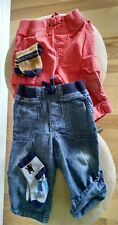 Toddlers,  Gymbore 2 pair of pants/bottom, Size12-18 m