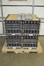 Lot of 4 - HP BLC7000 C7000 Blade Server Chassis w/Rails + Modules